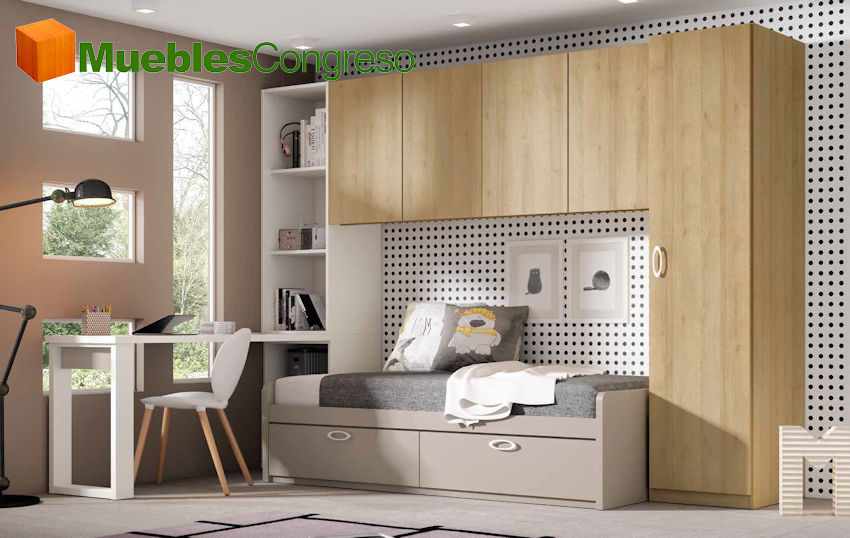 Camas nido, compactos y serie modular