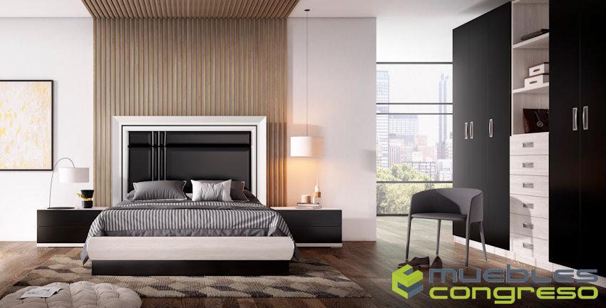 Diseño de dormitorios de matrimonio completos