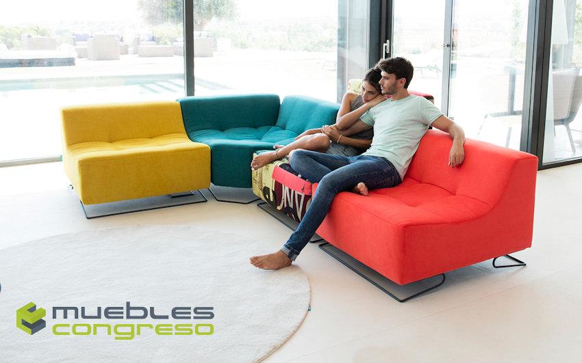 Sofá modular Fama Luci Pop