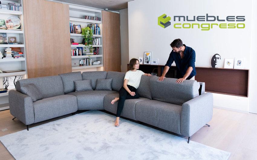 Sofá modular relax Fama Atlanta